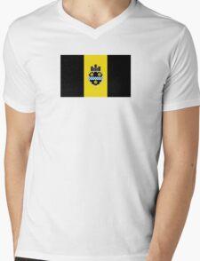 Flag of Pittsburgh  Mens V-Neck T-Shirt