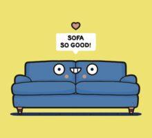 Sofa so good One Piece - Short Sleeve