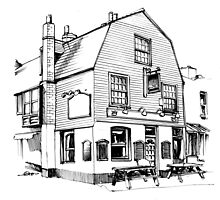 Pubs in Black & White by quigonjim