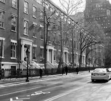 New York City Street by Mike Rivett