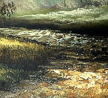 Black river by rafi talby by RAFI TALBY