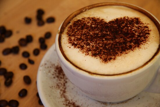 coffee heart by Adriana Wasyk