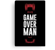 Game Over Man Canvas Print