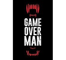 Game Over Man Photographic Print