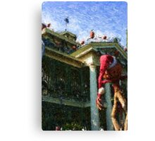 HAUNTED MANSION IMPRESSIONS Canvas Print