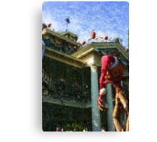 HAUNTED MANSION IMPRESSIONS Canvas Print