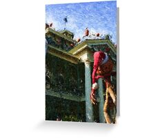 HAUNTED MANSION IMPRESSIONS Greeting Card