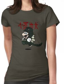 KAIJU SUIT Womens Fitted T-Shirt