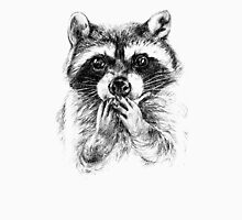 Surprised raccoon Unisex T-Shirt