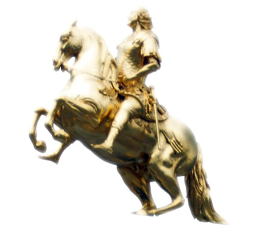 The Golden Statue (original) by ciararachel