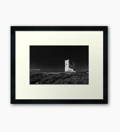 The Ruined Tower Framed Print