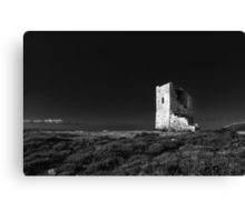 The Ruined Tower Canvas Print