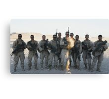 2nd Platoon- Ghost Squad  Canvas Print
