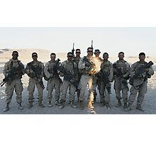 2nd Platoon- Ghost Squad  Photographic Print