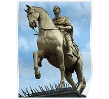 King William Statue, Hull Poster