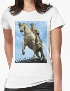 King William Statue, Hull Womens Fitted T-Shirt