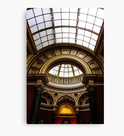 National Gallery Architecture Canvas Print