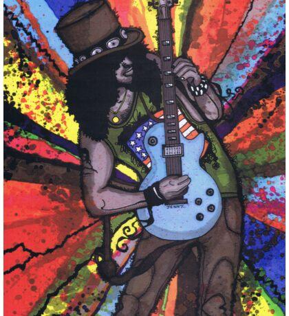 The Guitar Man Sticker