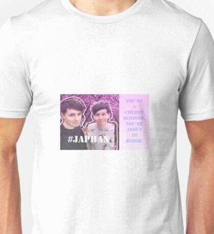 Dan and Phil in Japan, Japhan / Fall out boy lyrics Unisex T-Shirt