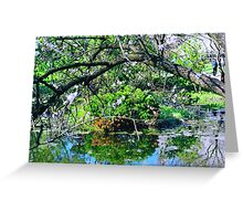 May in a Japanese Garden Greeting Card