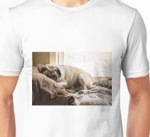 Cozy Pug Unisex T-Shirt