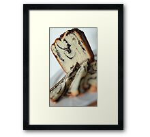 papaverous bread Framed Print