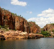 Katherine Gorge II by Dave Law