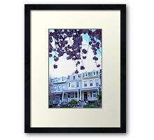 pastels and pink Framed Print