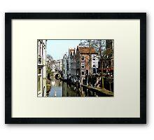 Utrecht in early spring Framed Print