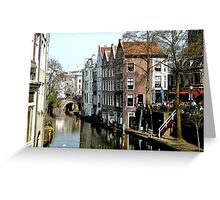 Utrecht in early spring Greeting Card