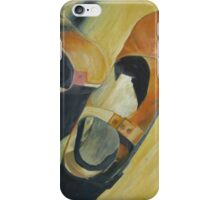 Still life Realistic painted Shoes iPhone Case/Skin