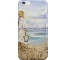Girl and the Ocean iPhone Case/Skin