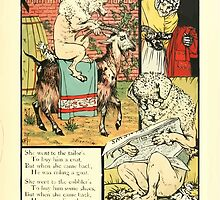 The Mother Hubbard Picture Book by Walter Crane - Plate 21 - Went to the Tailors, Cobblers by wetdryvac