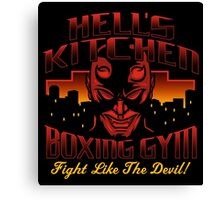 Hell's Kitchen Boxing Gym Canvas Print