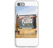 Wildhorse Plains Montana iPhone Case/Skin