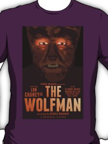 The Wolfman 1941 alternative movie poster T-Shirt