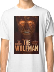 The Wolfman 1941 alternative movie poster Classic T-Shirt