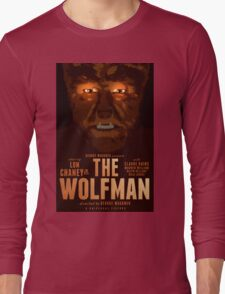The Wolfman 1941 alternative movie poster Long Sleeve T-Shirt