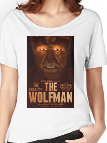 The Wolfman 1941 alternative movie poster Women's Relaxed Fit T-Shirt