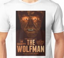 The Wolfman 1941 alternative movie poster Unisex T-Shirt