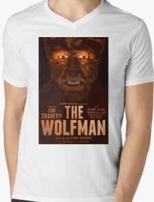 The Wolfman 1941 alternative movie poster Mens V-Neck T-Shirt