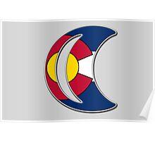 Colorado Moonlight Poster
