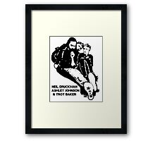 Motion Capture Framed Print