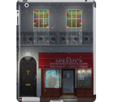 Sherlock Speedy's Cafe christmas iPad Case/Skin