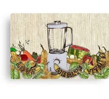 Smoothie Canvas Print