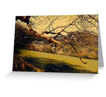 Rural Land Greeting Card