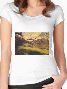 Rural Land Women's Fitted Scoop T-Shirt