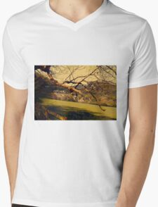 Rural Land Mens V-Neck T-Shirt