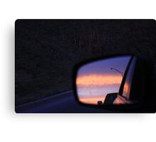 Lion's Sunset Reflections Canvas Print