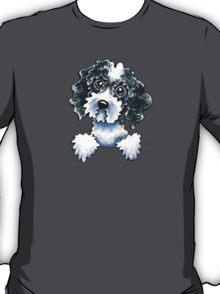Black Parti Cockapoo Lined Up T-Shirt